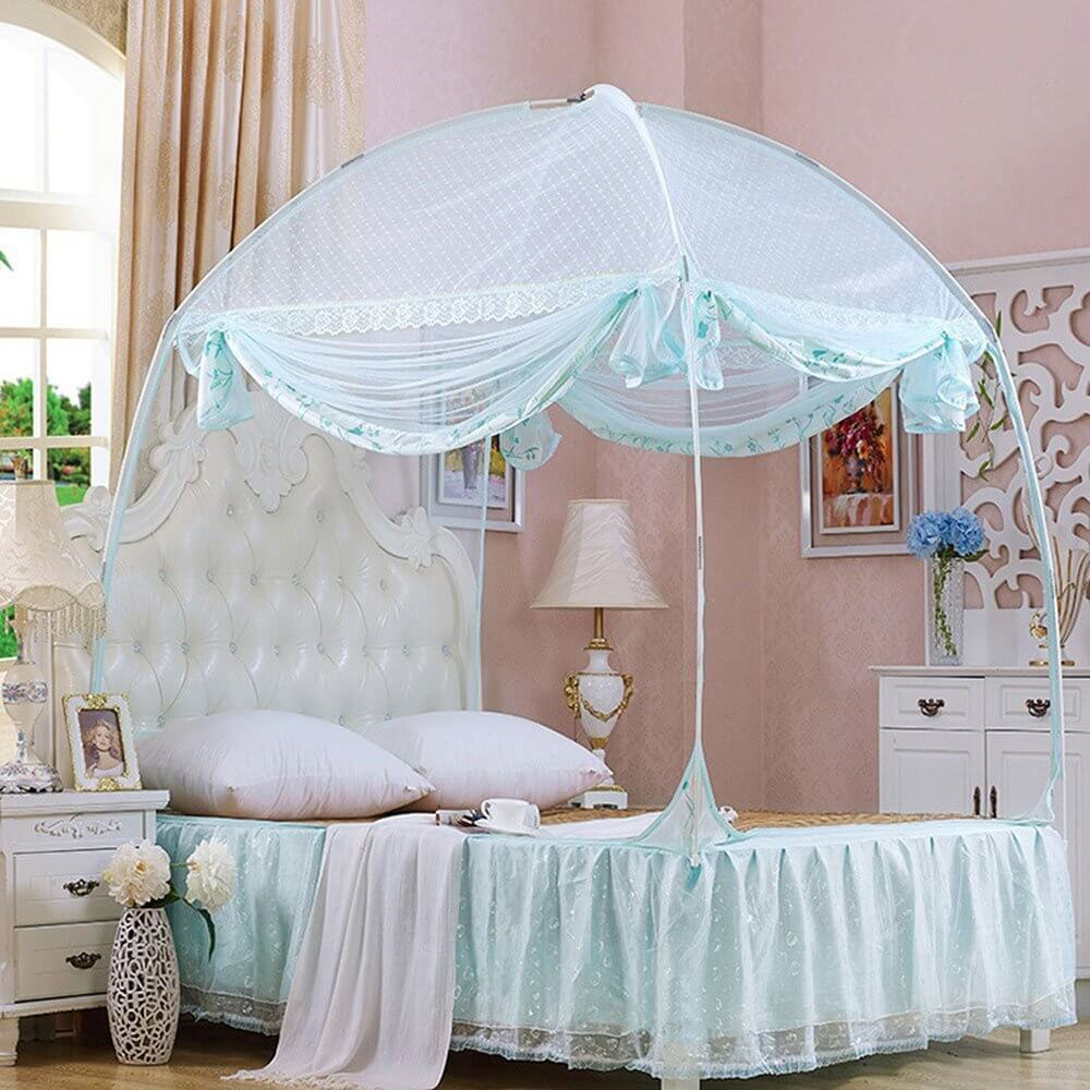 CdyBox Princess Mosquito Net Bed Tent - 8 Dream tents for queen size beds 2021