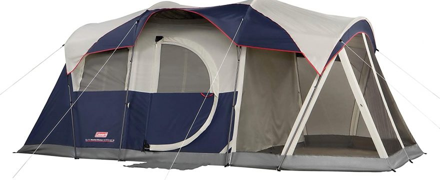 2 room tent with screened porch