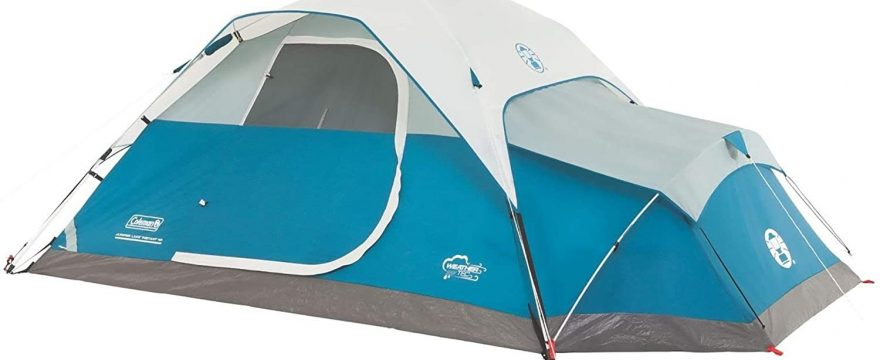 tents with ac ports